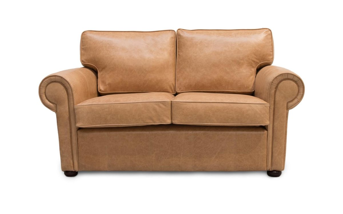 Clare Traditional Leather Sofa