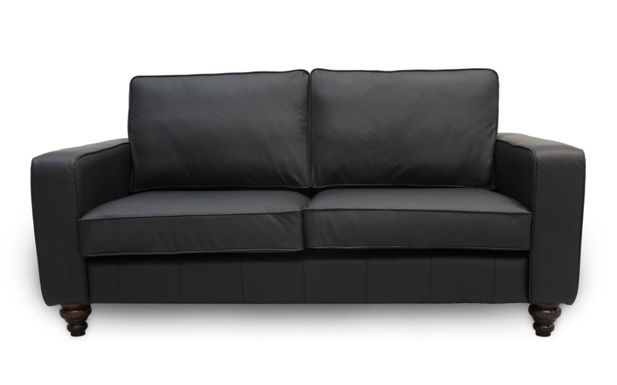 Derry Contemporary Leather Sofa