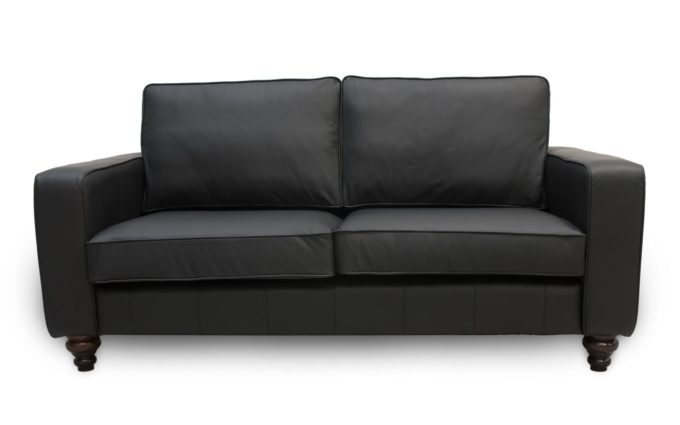 Derrby Contempoary Leather Sofa