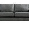 Derry Grey Leather Sofa