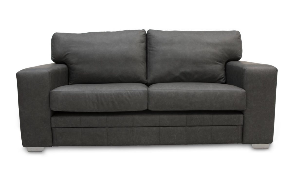 Dublin Square Arm Leather Sofas