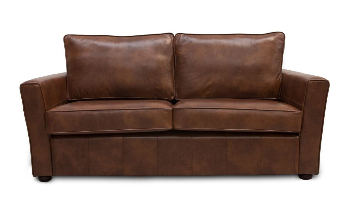 Longford Quality Leather Sofa Beds