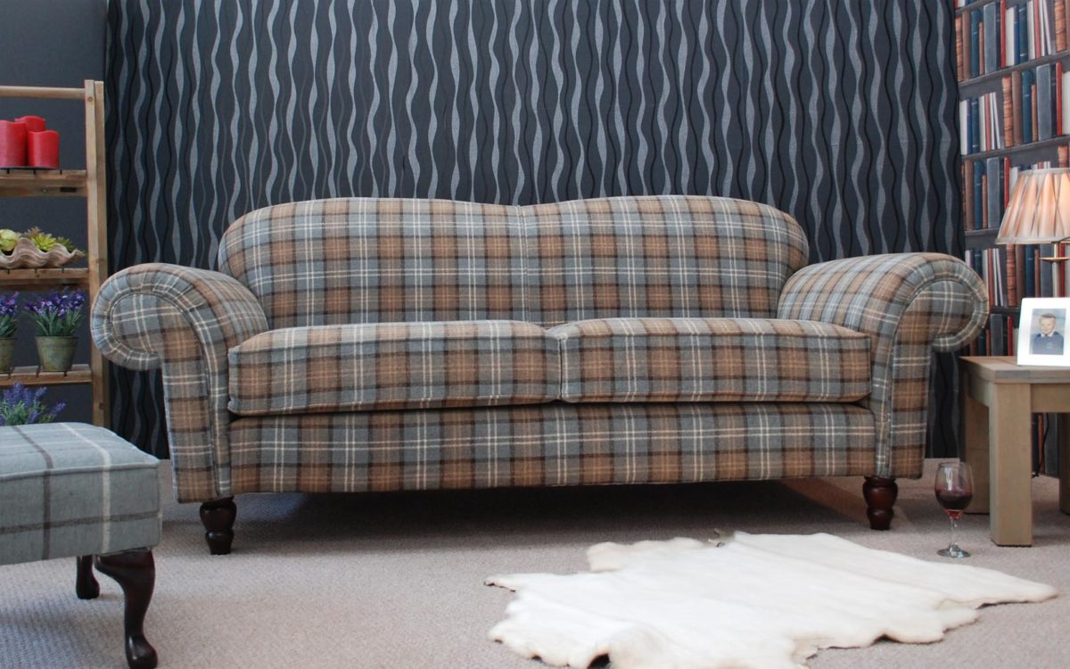 Roscommon Tartan Sofa
