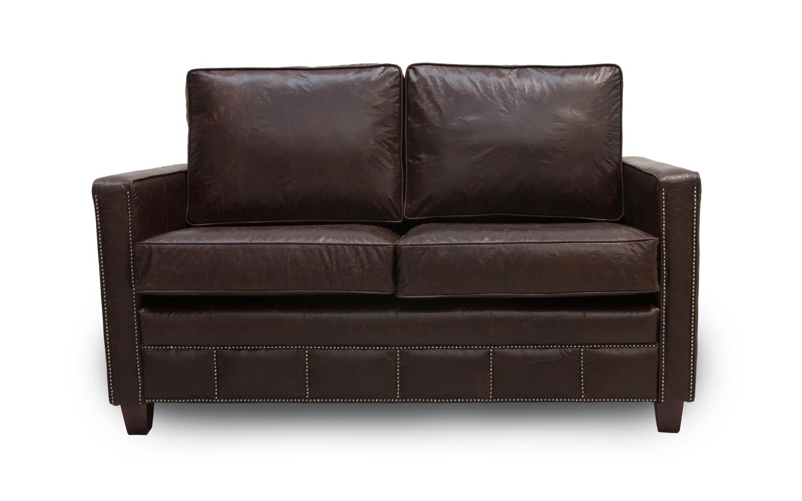 Sligo Vintage Leather Sofas Traditional Settee Design